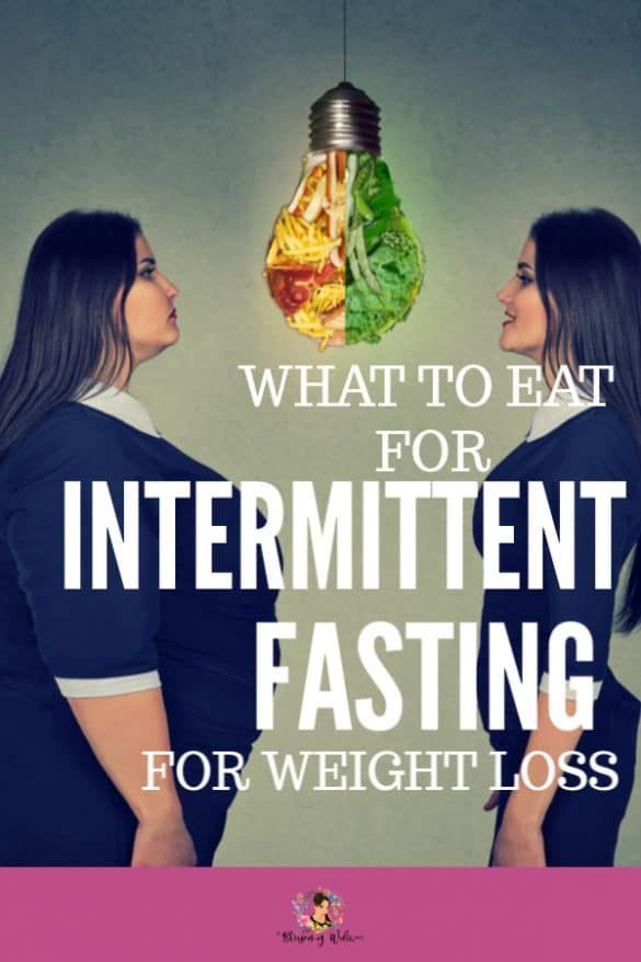 Intermittent Fasting For Weight Loss with Meal Plan and Schedule.