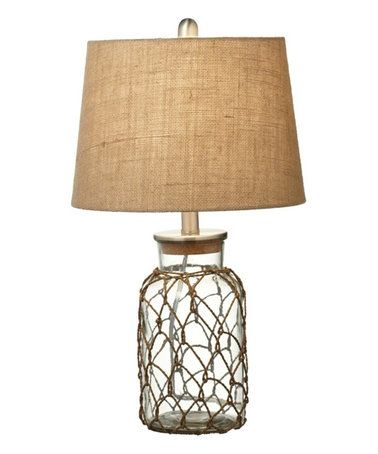 Another Great Find On Zulily 13 Rope Netting Table Lamp