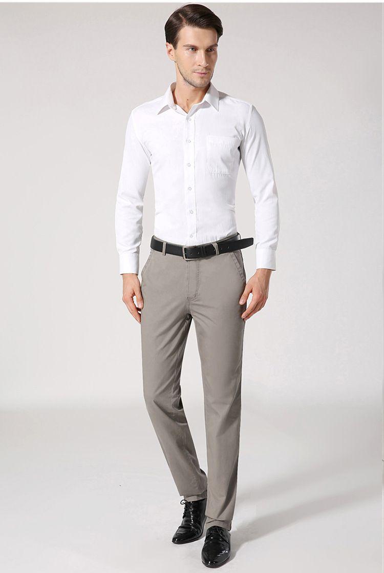 Men Fashion | Business-Office-Corporate Attire | Slim Pants | Mens ...