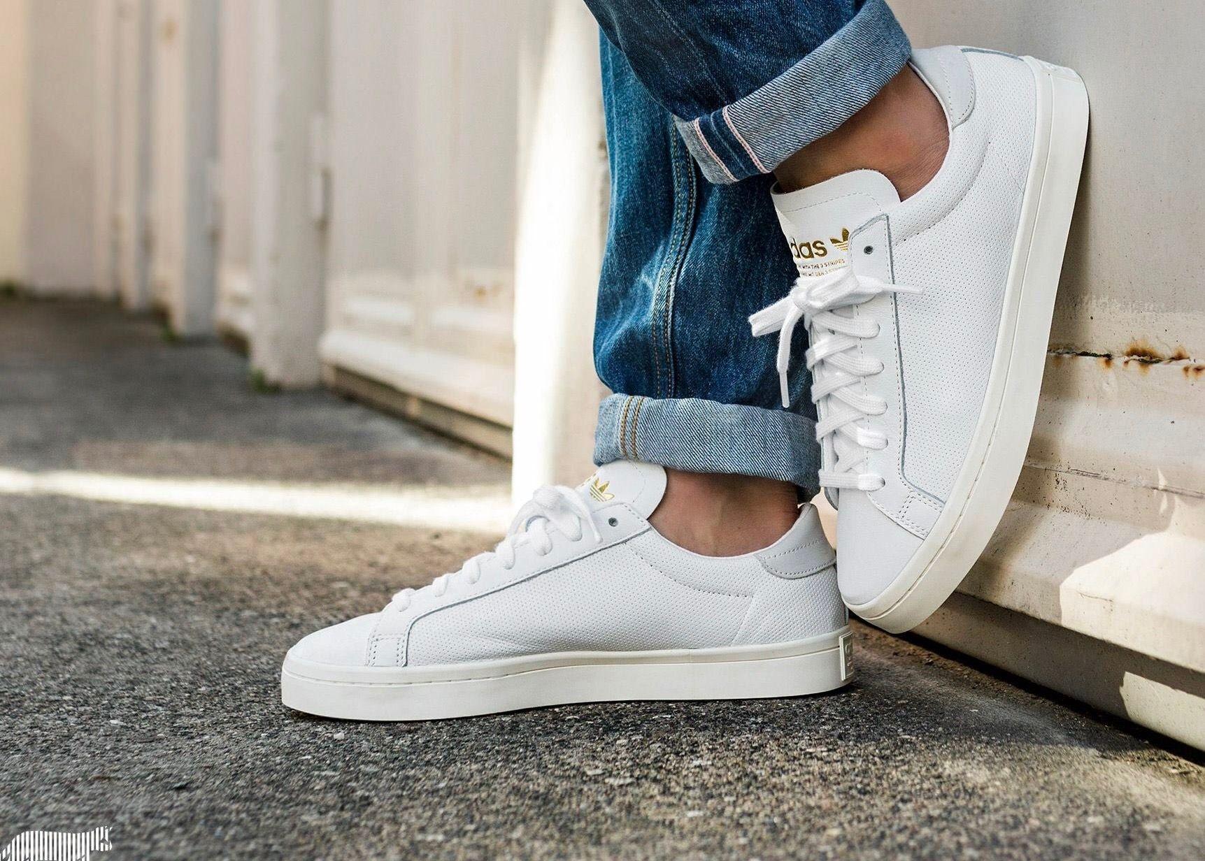 adidas Originals Courtvantage W in grau BY9230   everysize