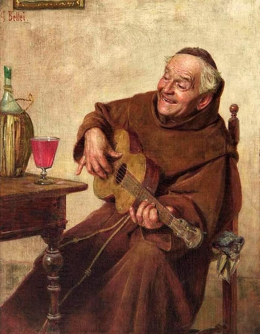 Singing Monk (Gaetano Bellei - )