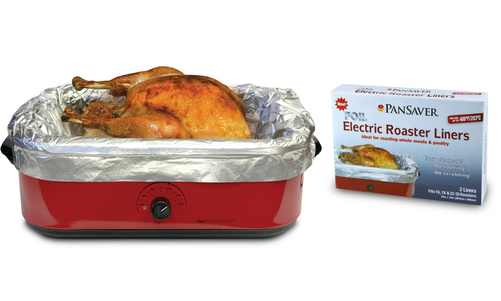 PanSaver Electric Roaster Foil Liners Giveaway