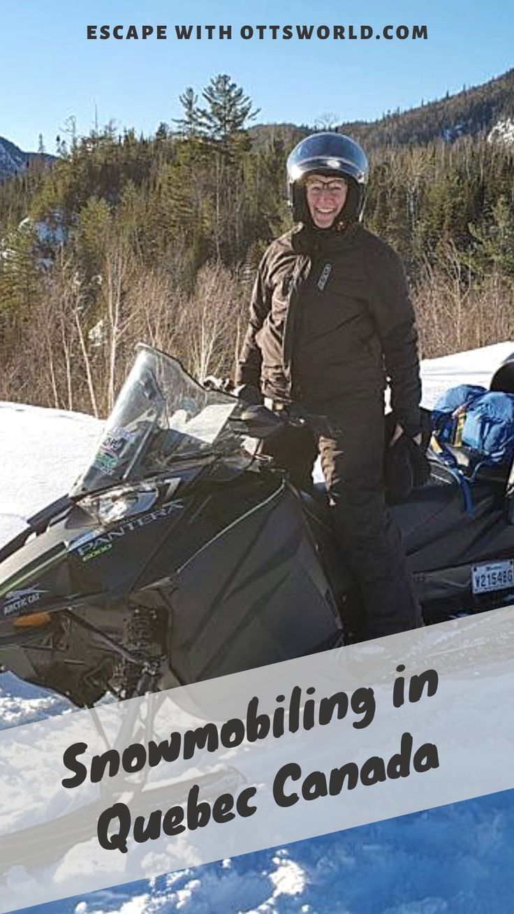 7 Surprising things I learned as a beginning snowmobiler ...
