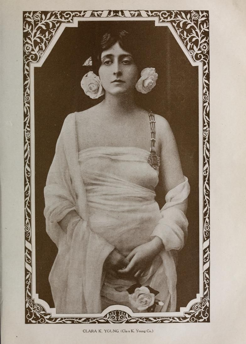 Clara Kimball Young | Vintage photo album, Female movie stars ...