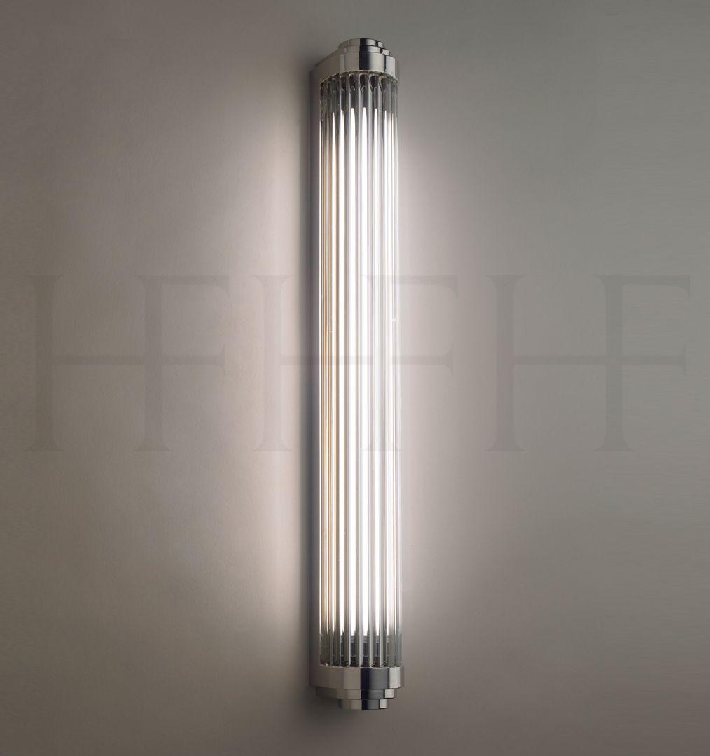 Rod Pillar Light Hector Finch Lighting Art Deco Bathroom Bathroom Light Fixtures Bathroom Sconce Lighting