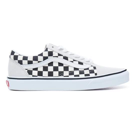 Chaussures Old Skool Noir Vans In 2020 Lieferwagen Vans Schachbrett Schuhe