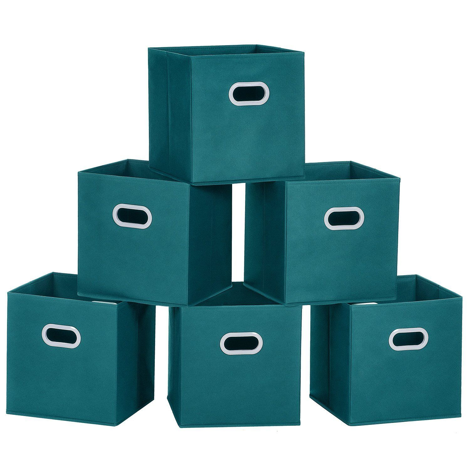 12 X 12 X 12 Inches 23 For Set Of 6 Amazon Com Maidmax Cloth Storage Bins Cubes Baskets Container Toy Storage Cubes Storage Bins Bedroom Drawer Organizer