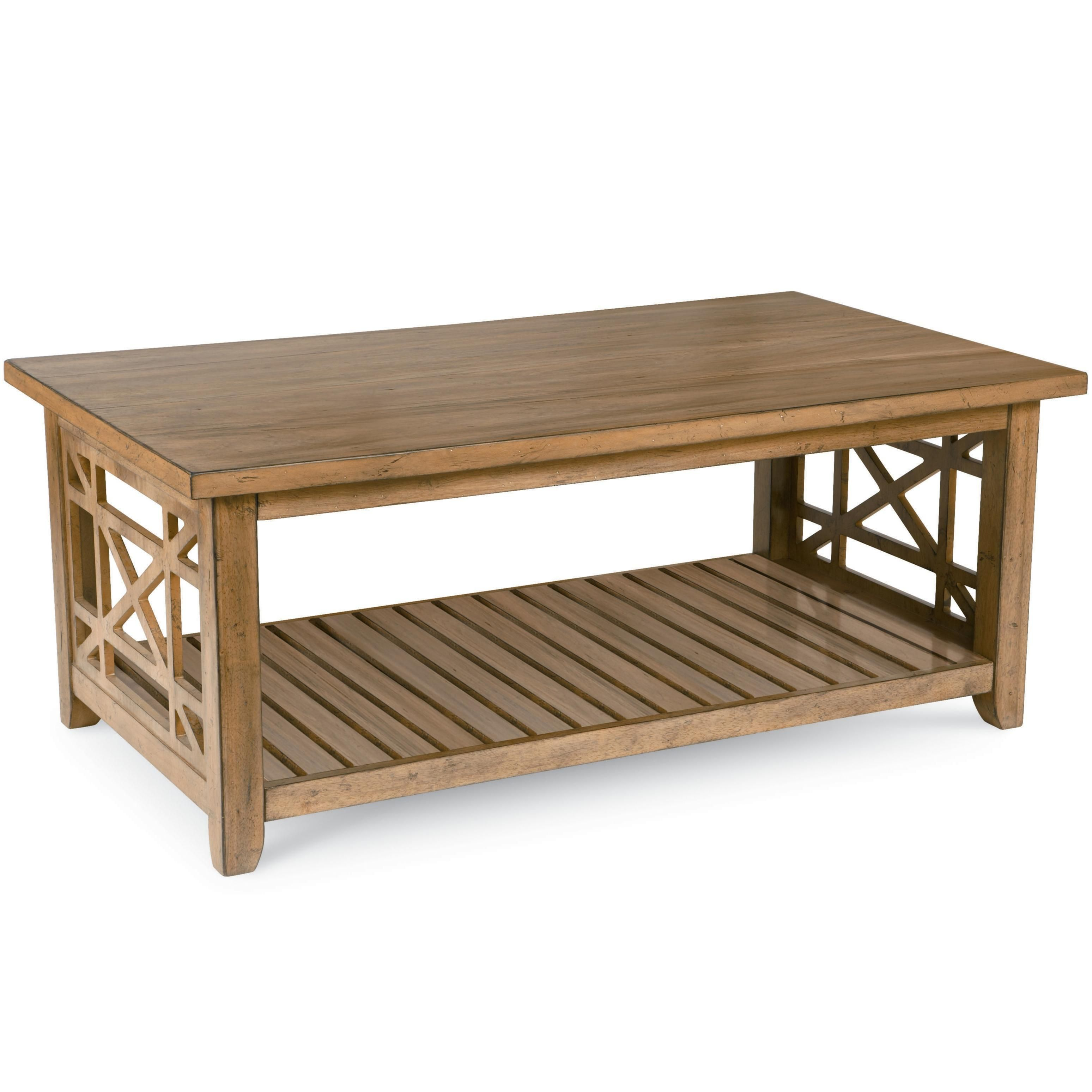 Frasier Rectangular Cocktail Table With Casters And Shelf By Broyhill Furniture At Hudson S Furniture Coffee Table Coffee Table Wayfair Broyhill Furniture [ 3096 x 3096 Pixel ]