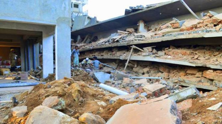 Goa building collapse: Deputy Town Planner held, builders still missing