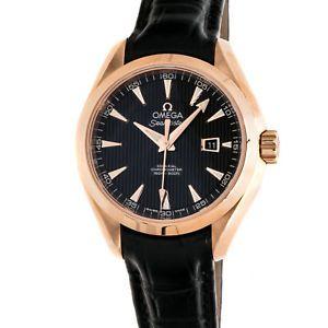 9abc168de57 New Omega Seamaster Aqua Terra Rose Gold Auto Ladies Watch  231.53.34.20.01.002 . You save   5