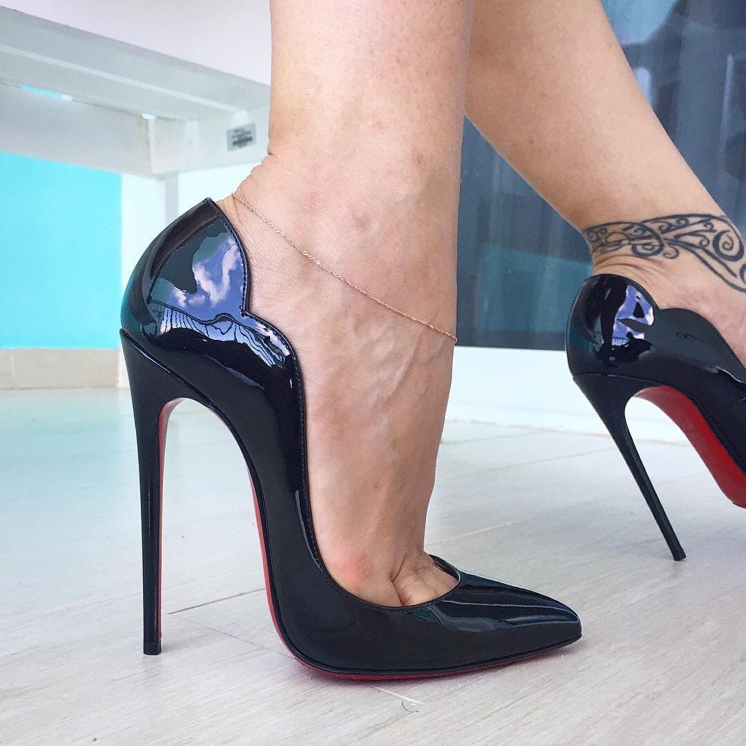 1c286c81114 Can't go wrong with the Christian Louboutin Hot Chick 130mm ...
