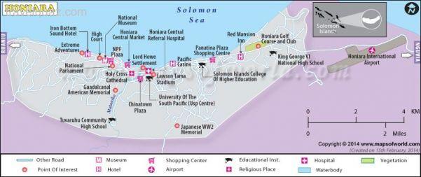Awesome Honiara Map Travelquaz Pinterest Chur Solomon - Chur map