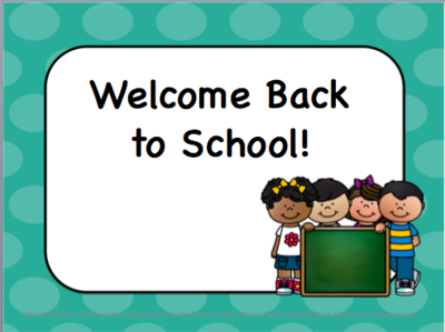 Free starting today at 11:00am CST on Teachers Notebook! Back to School Editable Power Point!