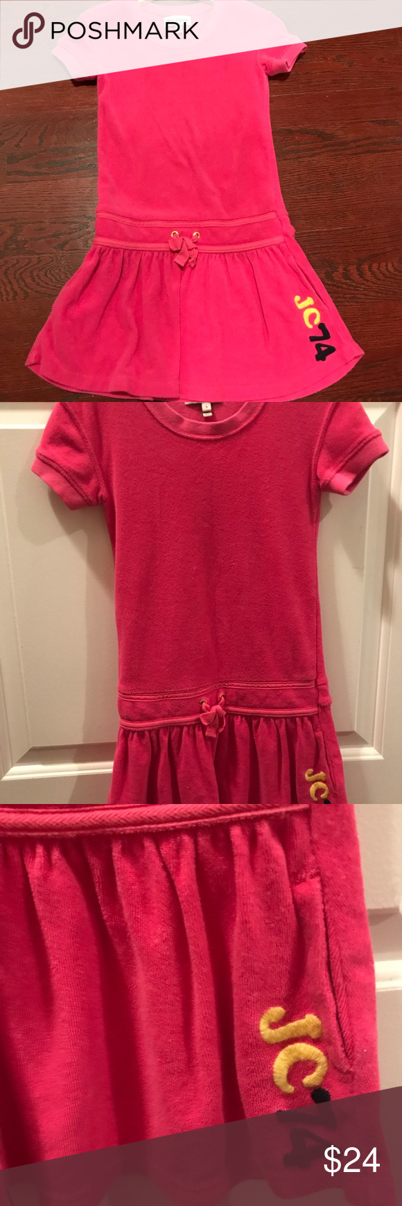 Juicy couture adorable terry dress girls years juicy couture