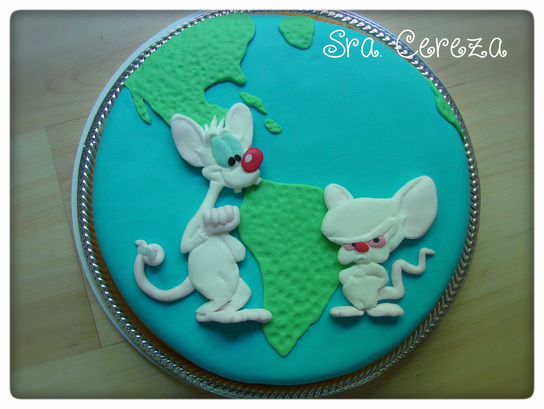 Torta Pinky y Cerebro | Pinki Cerebro | Pinterest | Tortilla, Tortas ...