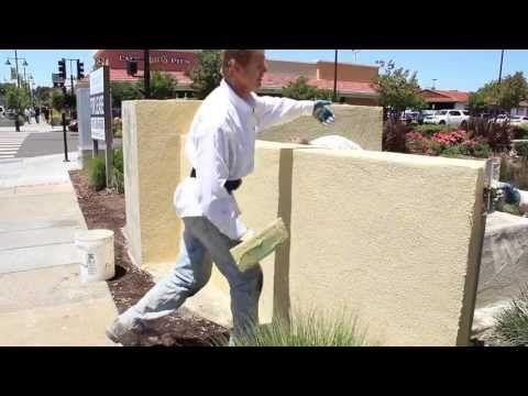 How To Stucco Basement Walls Diy Interior And Exterior Walls Cinder Block Walls Stucco Interior Walls Concrete Block Walls