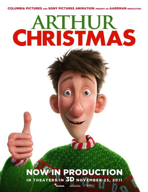 day 21 watch arthur christmas with popcorn - Best Animated Christmas Movies