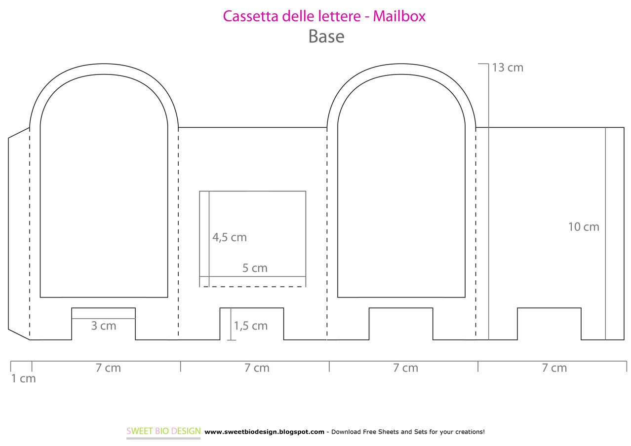 Cassetta Porta Lettere Salvadanaio Tutorial Money Saver Mailbox Diy Bastelideen Basteln Idee