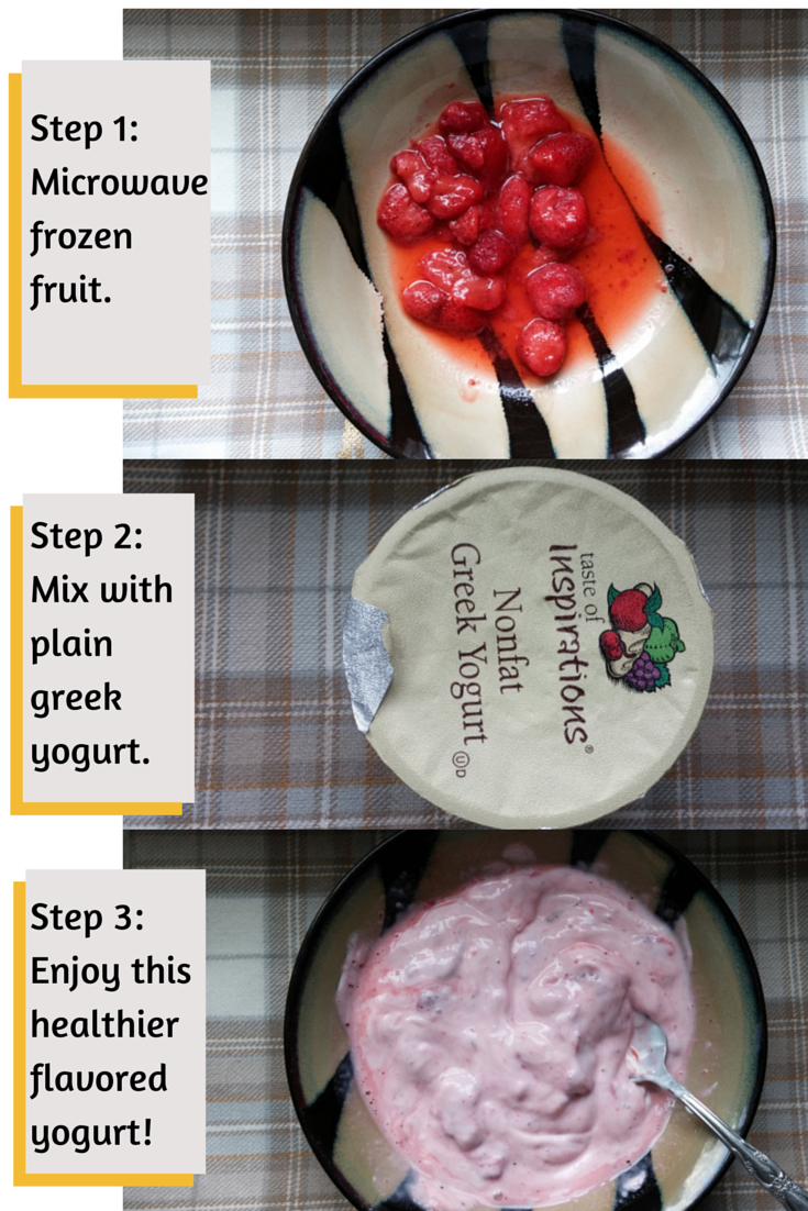 My secret trick to make plain greek yogurt taste good  Greek