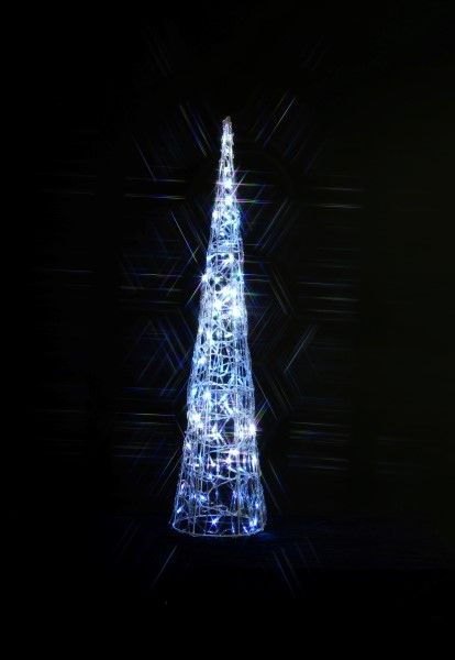 Acrylic Ling Cone Outdoor Light