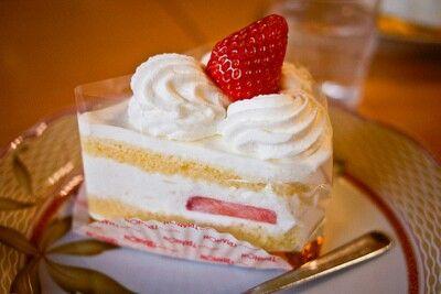 Strawberry cake ♡