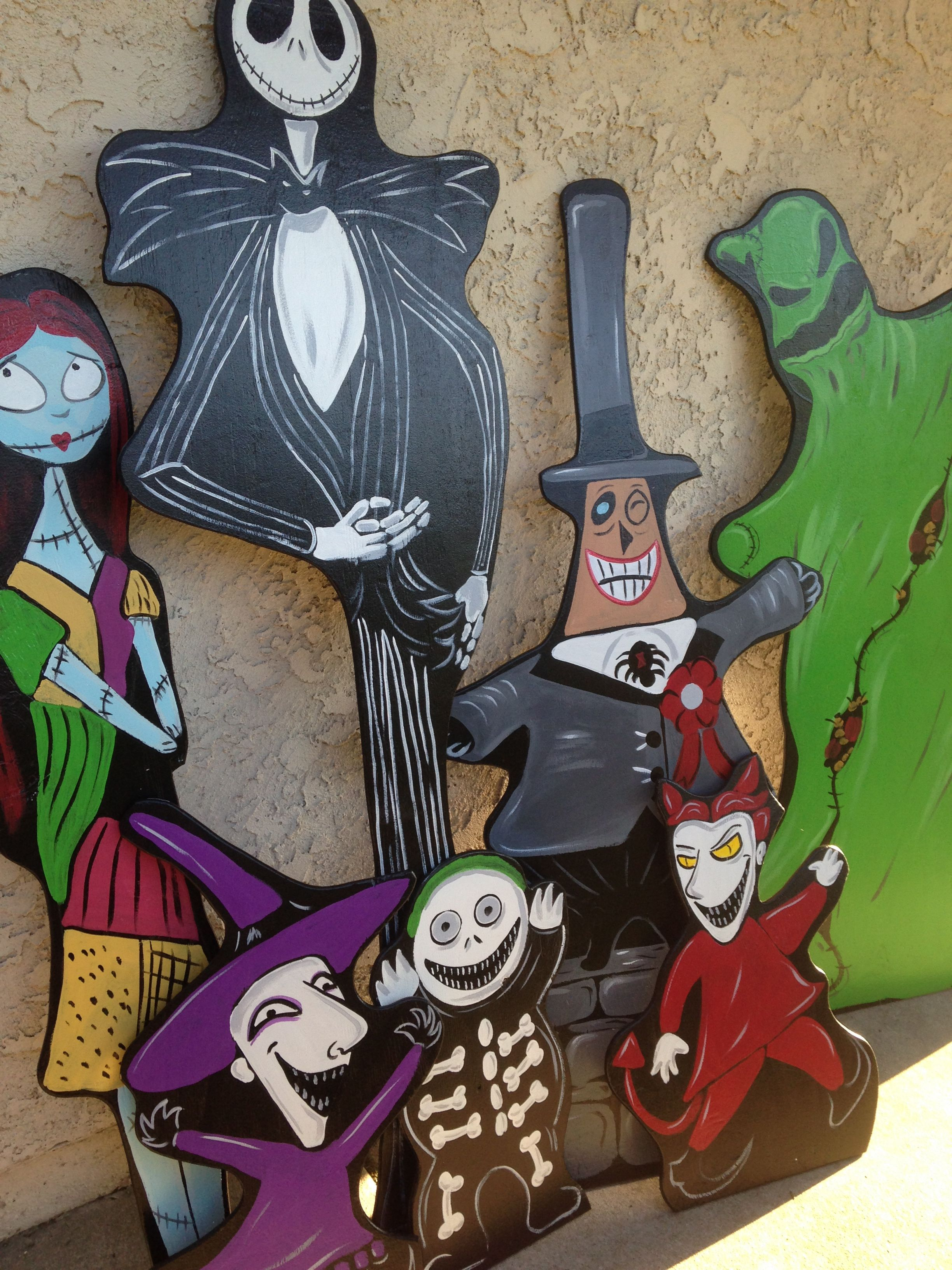 purchase halloween lawn decorations wwwholidaylawncharacterscom nightmare before christmas decorations nightmare before