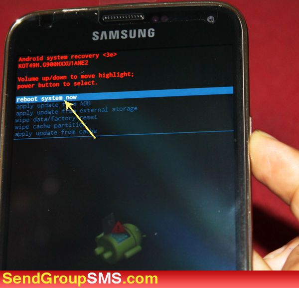 How to Hard Reset/Factory Reset Samsung Galaxy S5 Android Phone
