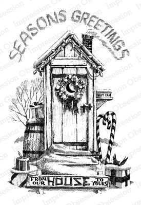 Image result for outhouse christmas coloring pages