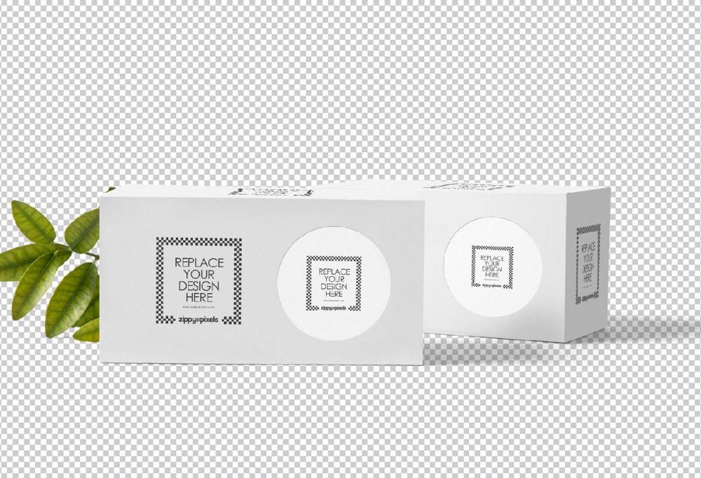 Download Free Tea Packet Set Packaging Long Box Mockups Free Package Mockups Box Mockup Free Packaging Mockup Free Mockup
