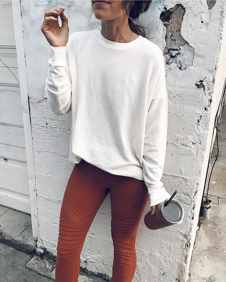 casual cozy winter outfit ideas for school style, leggings ...