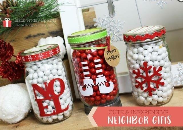 Christmas Mason Jar Decals Mason Jar Christmas Gifts Christmas Jar Gifts Mason Jar Diy