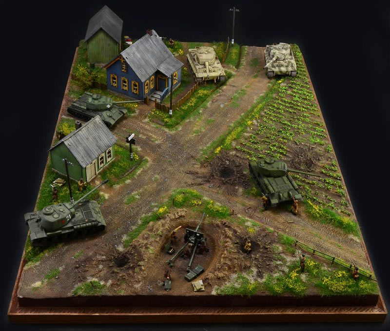ITALERI 1944 BATTLE of Malinava Battle Set 6182 1:72 Diorama