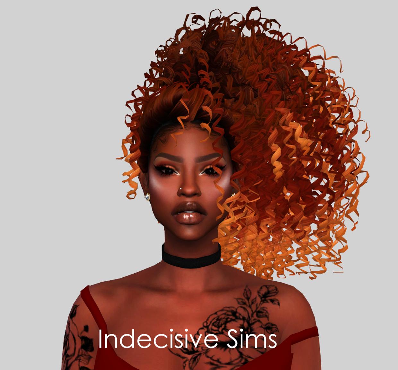 Irati Hair 4k Tumblr Followers Gift Nonvme Sims On Patreon Sims Hair Sims 4 Black Hair Sims 4 Curly Hair