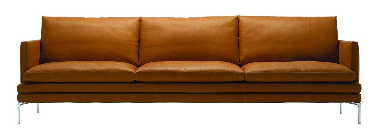 Jetzt Bei Desigano Com William Sofa 3 Sitzer Sitzmobel Sofa Von Zanotta Ab Euro 5 880 00 William Vom Designer Damian Williamson Aus Sofa Design Sofa Sofas