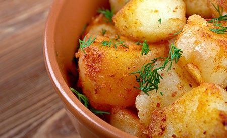 Feine Bratkartoffeln – ayurvedisch