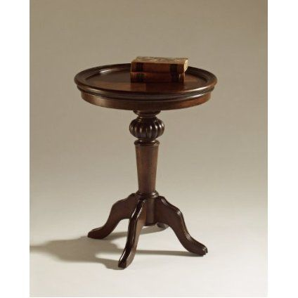 Magnussen Ferndale Wood Pedestal Accent Table $249.91