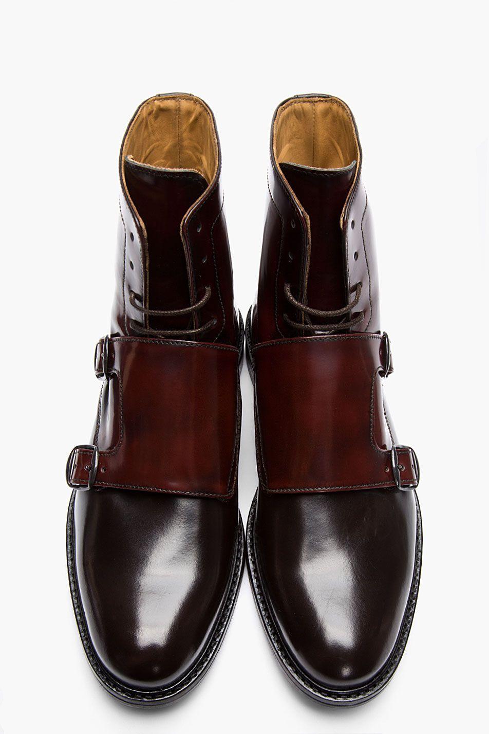 Des bottines double boucle Carven avec un très beau dégradé de couleurs. -  JAMAIS VULGAIRE, blog mode homme, magazine et relooking online