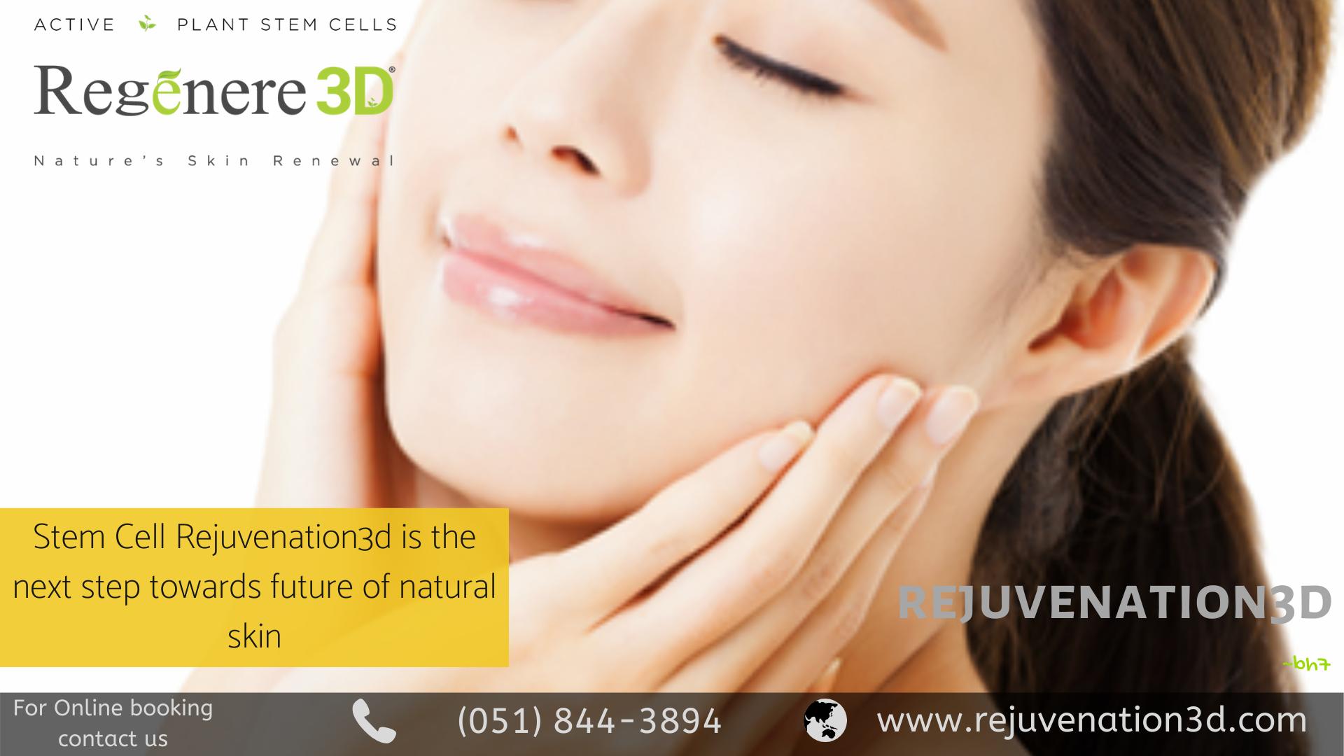 Rejuvenation 3d Stem Cells Advanced Skin Care Anti Aging Skin Care