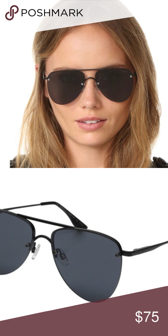 2c47ccf29c4 Le Specs Prince Aviators Matte Black Case is a little dirty but sunglasses  are in excellent condition - no lens scratches or flaws.