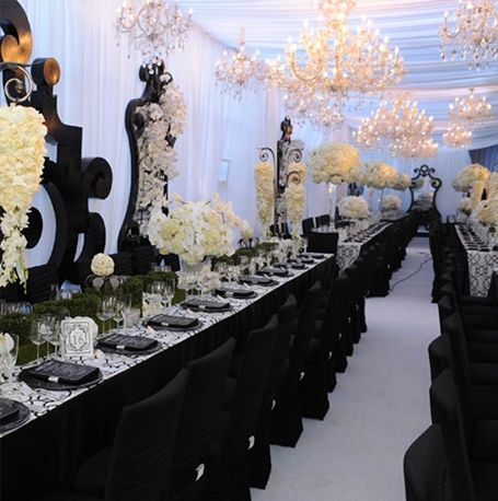 Black And White Wedding White Wedding Decorations Black Wedding Decorations White Wedding Theme