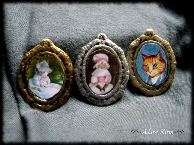 Mini camafeos Cats Collection