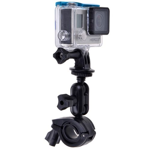Bicycle Motorcycle Handlebar Mount for GoPro HERO6//5//5 Session//4 Session//4//3+//3//