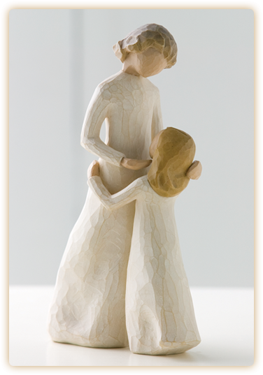 """Mother and Daughter"" Willow Tree Figurine"
