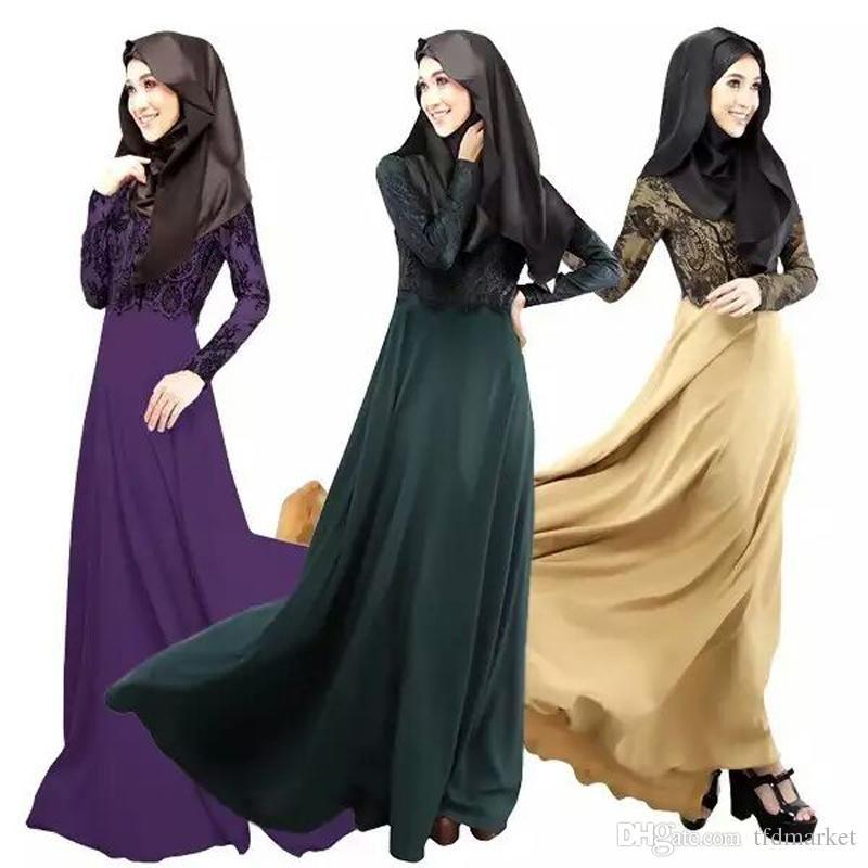 2015 new Muslim Dress Sale Women Original Dubai Muslim Robe muslim ...