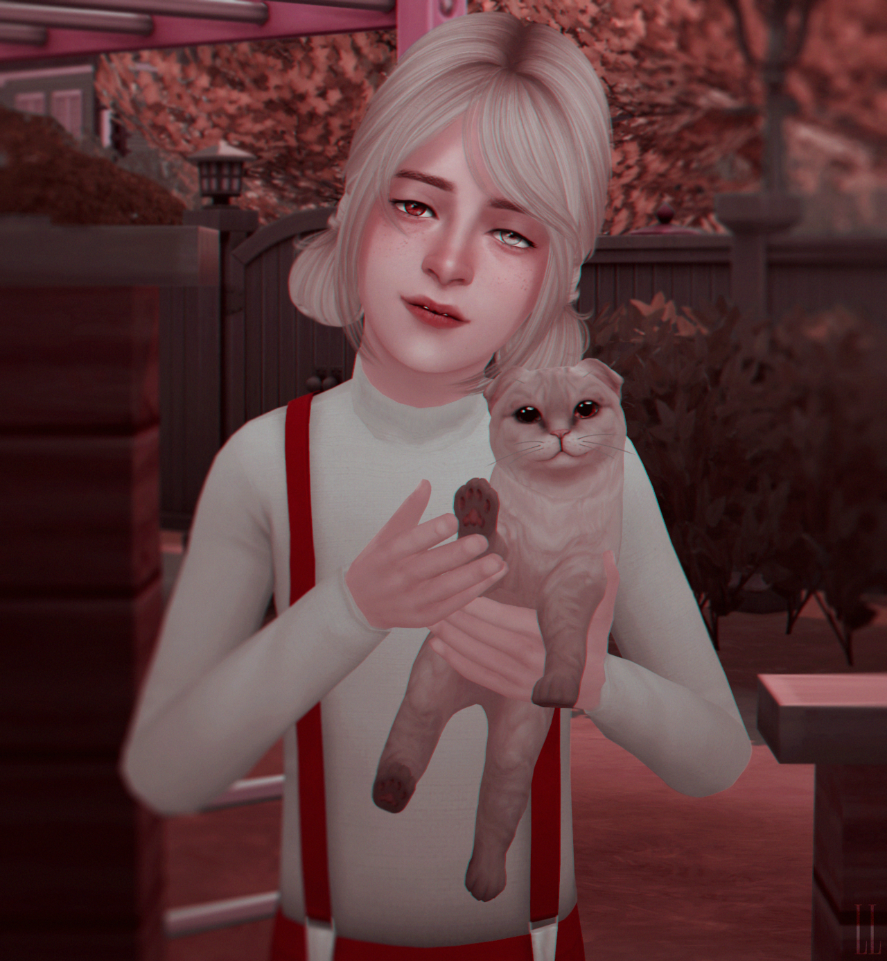 Female sim without name №16 and kittenGame Version 1.46