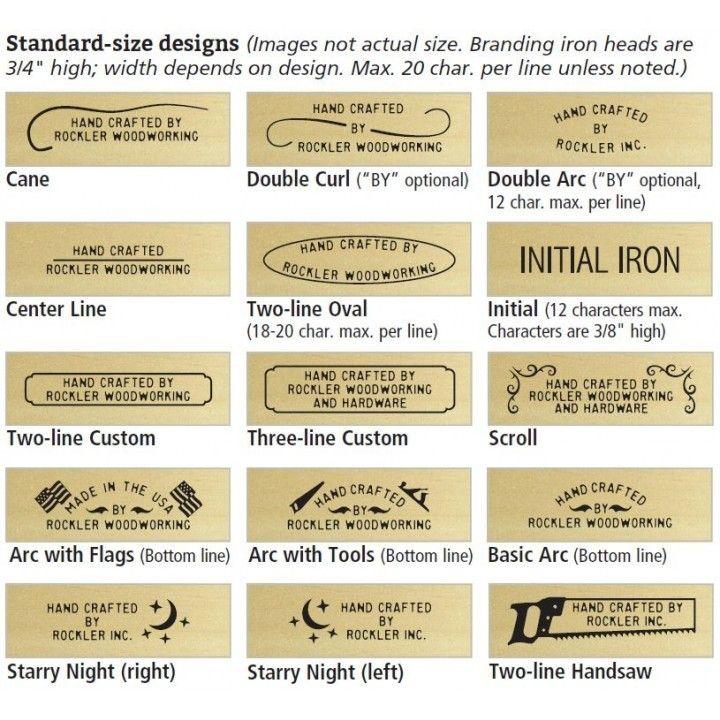 Customized Electric Branding Iron Gift Set