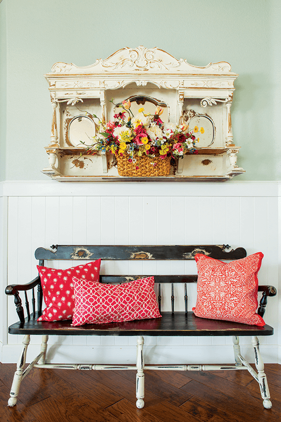Colorful Vintage Cottage Style Home Decorating Ideas