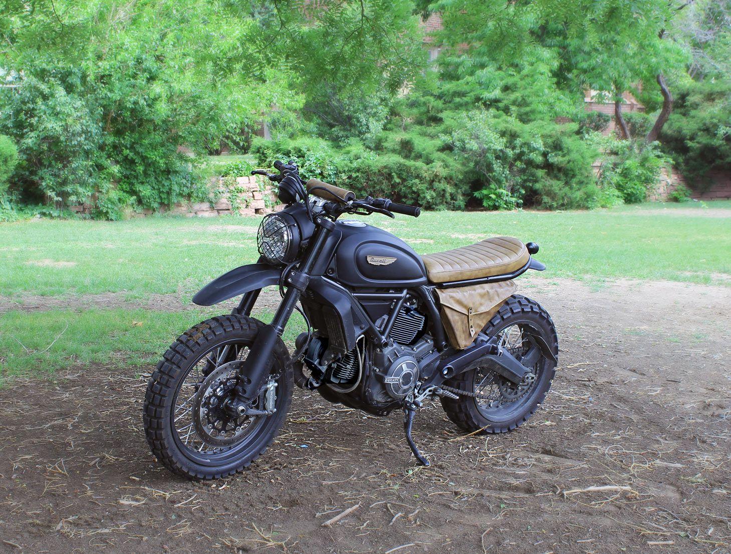 Custom Ducati Scrambler Urban Enduro Motos Ducati Scrambler