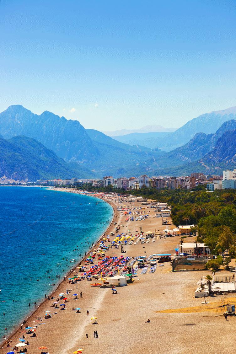 أجمل المناطق السياحية في تركيا Antalya Beach Turkey Travel