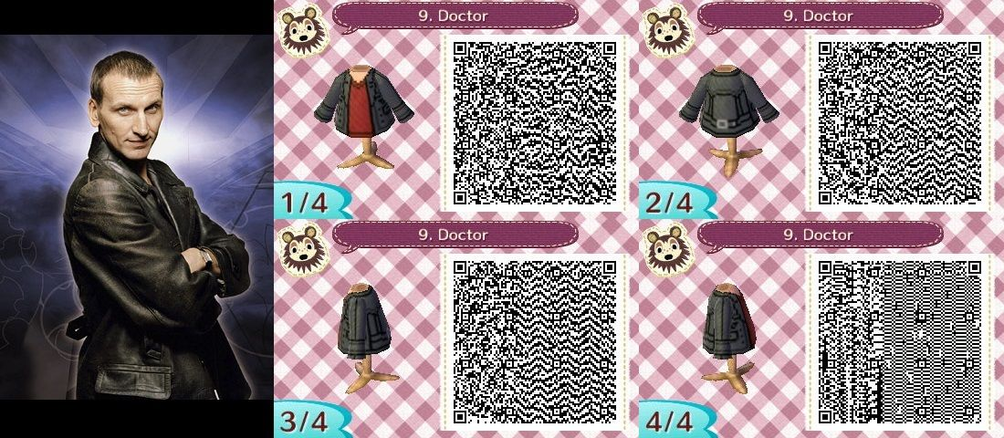 9. Doctor Who/Torchwood ACNL QR-Codes by Katan100 on DeviantArt